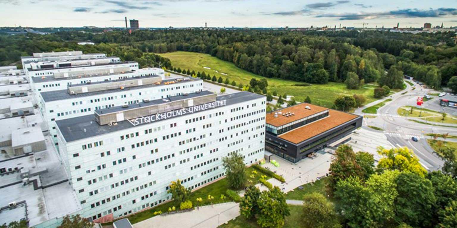 محوطه و ساختمان دانشگاه استکهلم