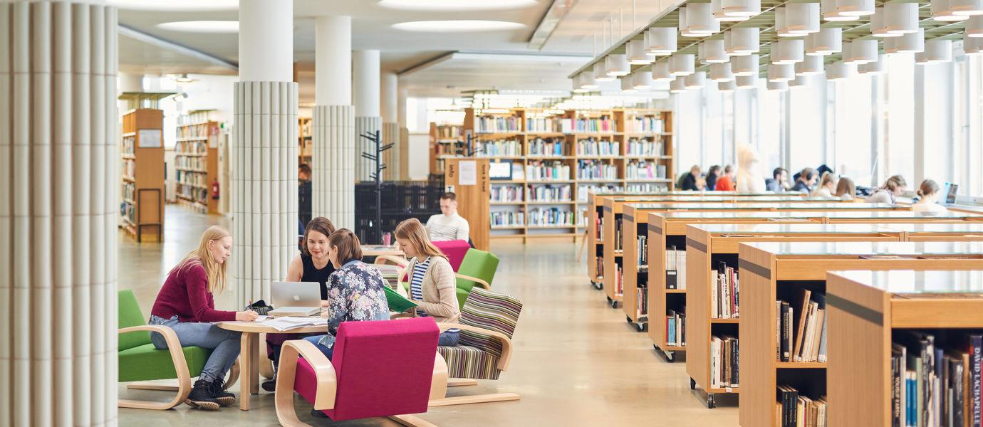 کتابخانه دانشگاه آلتو