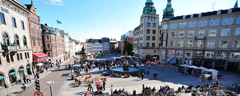 محوطه دانشگاه کپنهاگ