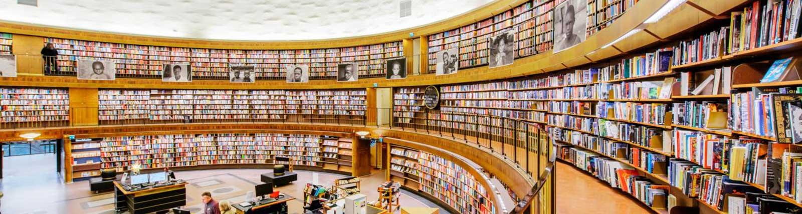 کتابخانه دانشگاه استکهلم