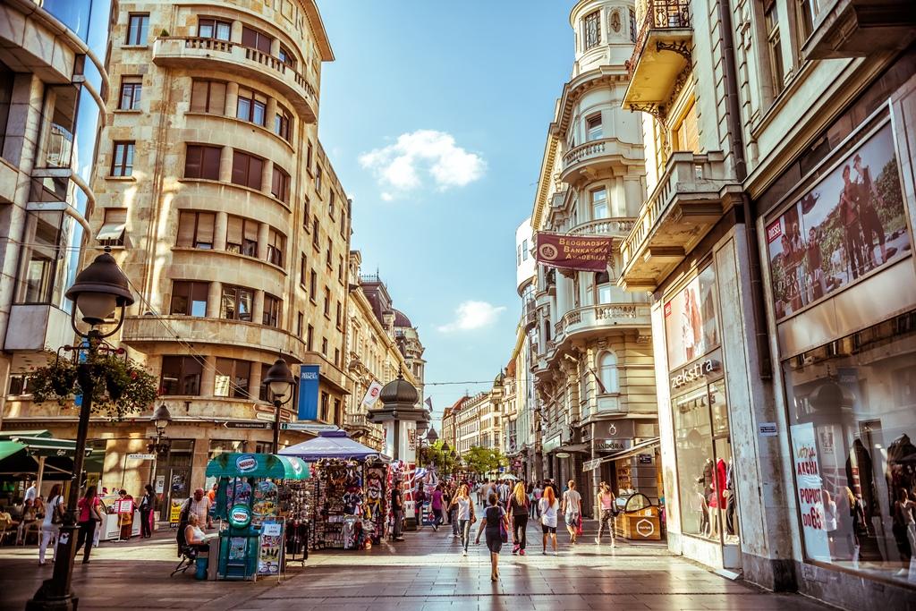 شهر زیبای بلگراد پایتخت صربستان