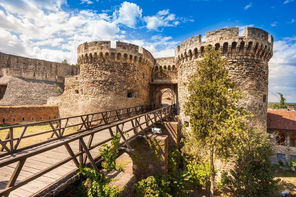 نمایی از قلعه بلگراد