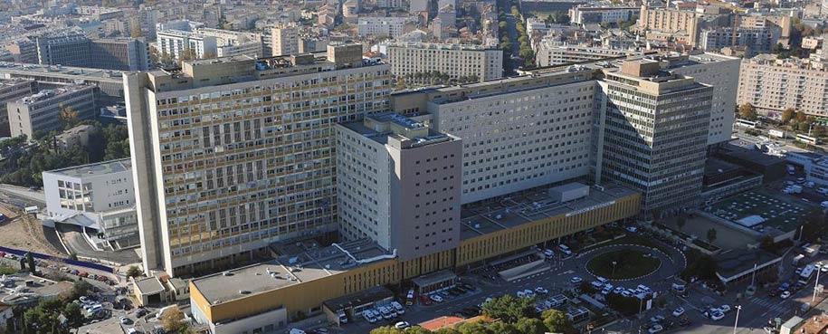 بیمارستان Hôpital de la Timone در شهر مارسی